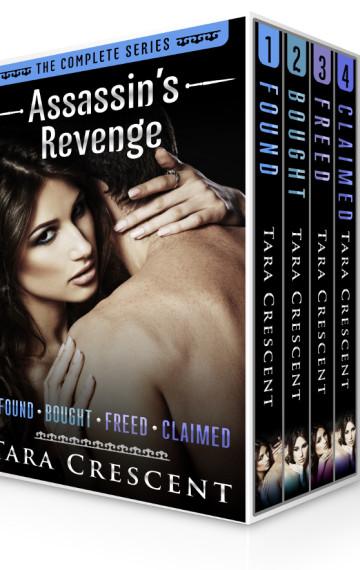 Assassin's Revenge: The Complete Series (BDSM Alpha Male Romantic Suspense Boxed Set)
